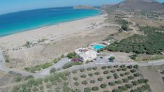 Over view Panorama Hotel Falassarna. All our rooms and apartments have view to the sea. Falassarna Beach, Destin Beach, Crete Holiday, Deep Cleansing Facial, Relaxing Holidays, Hotel Amenities, Pool Bar, Amazing Sunsets, Fruit In Season