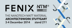 December 3-4, Stuttgart, FENIX NTM @ Architect@Work.