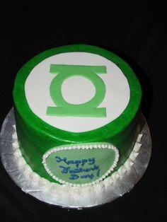 Green lantern party on Pinterest  Green lanterns, Green lantern cake ...