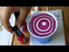 Victoria C., 5/13/12: Water Marble Nails Tutorial (she is the creator of many beautiful water marble designs)