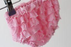 Newborn Ruffle Fabric Diaper Cover Tutorial and Free Pattern - Sew Much Ado