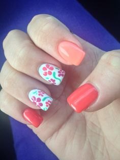 My new Spring nails :)