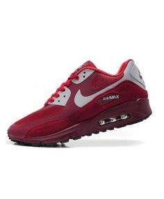 buy popular c4cbc 74fa0 Nike Air Max 90 Hyperfuse Premium Wine Red Womens Cheap Sale