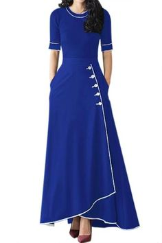 Women Clothing Designers The Best Black Piped Button Embellished High Waist Maxi Skirt Fashion Week, Fashion Outfits, Fashion Skirts, Style Fashion, Fashion Black, Latest Fashion, Girly Outfits, Sexy Outfits, Womens Fashion