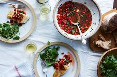 Michel Guérard's Sauce Vierge This Genius No-Cook French Tomato Magic Should Be the Sixth Mother Sauce Pasta Recipes, Cooking Recipes, Healthy Recipes, Food52 Recipes, Cafe Recipes, Recipes Dinner, Dinner Ideas, Mexican Food Recipes, Ethnic Recipes