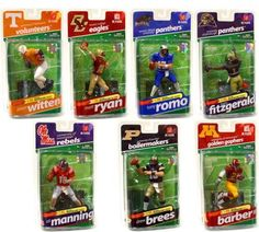 McFarlane Toys NCAA College Football Sports Picks NCAA Sports Picks Series 2 8 Action Figures