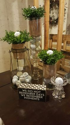 53 delightful golf table decorations images christmas ornaments rh pinterest com