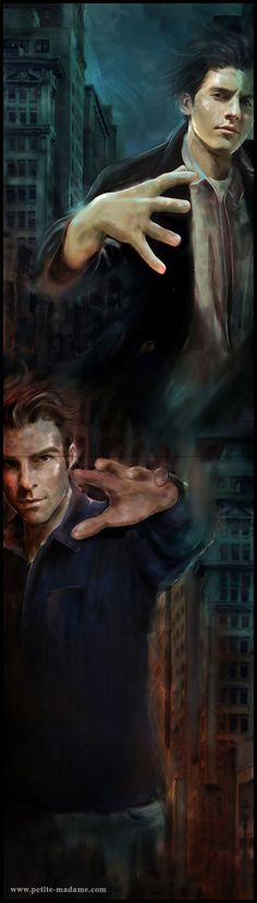 Peter Petrelli (top) and Gabriel Sylar, two characters from the Tv Show Heroes (NBC) Peter and Sylar have always been my favorite characters on Heroes. As far as Sylar is concerned, I found the ide...