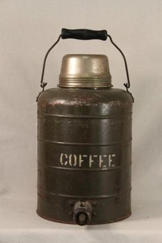 WWII Army Air Force Coffee Thermos...