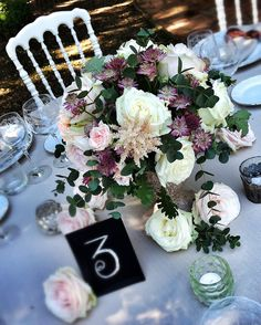 Centerpieces Flowers by La Rosa Canina FIRENZE
