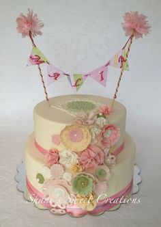 Fantasy Flowers - by ShanisSweetCreations @ CakesDecor.com - cake decorating website