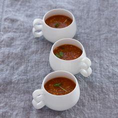 Main Courses - Seasoned lentil soup