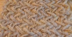 the herringbone stitch   row 1       cast on as manystitches as you need     knit 1   slip 1 purl wise   knit 1   yo   pass the slipped...