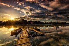 Sunset by Czakó Balázs on What A Wonderful World, Planet Earth, Homeland, Hungary, Wonders Of The World, Planets, Sunrise, Beautiful Places, Scenery