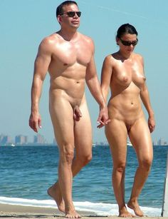beach for nud Shaved smooth
