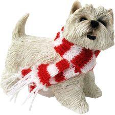 West Highland Terrier Christmas Ornament