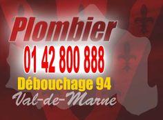 Plombier Val de Marne 94 pour déboucher vos canalisations tous sanitaires (WC, évier, baignoire) et système d'évacuation des eaux usées.
