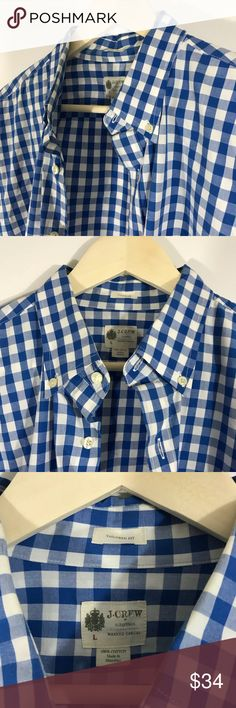 J Crew 100% Cotton New without Tags J. Crew Shirts Casual Button Down Shirts