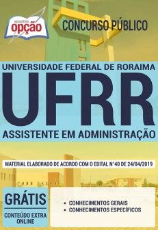 Apostila Concurso Universidade Federal De Roraima Ufrr 2019