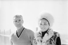 Rendezvous With The Shah Of Iran, Farah Diba And Their Children The. Farah Diba, Saint Moritz, King Of Persia, The Shah Of Iran, Persian Pattern, Persian Culture, Prince, Royal Fashion, Winter Sports