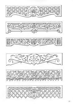 victorian fretwork patterns - Google Search