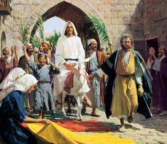 Norman Rockwell, Sierra Leone, Holy Week Days, Jesus Enters Jerusalem, Triumphal Entry, Harry Anderson, Trinidad, Easter Books, Jesus Resurrection