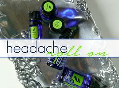 Headaches are such a bummer. Unfortunately, I get them all the time-I can't wear a pony-tail without a head ache and I do all my blog posts via the sofa despite my new office space! I had t…