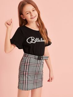 Discover recipes, home ideas, style inspiration and other ideas to try. Preteen Girls Fashion, Girls Fashion Clothes, Teen Fashion Outfits, Casual Outfits, Young Girls Clothing, Fashionable Outfits, Work Outfits, Cute Little Girls Outfits, Cute Girl Dresses