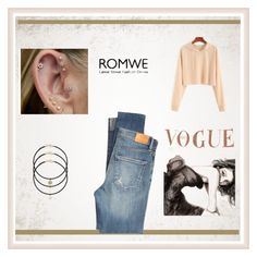 """""""Romwe"""" by malo-lama ❤ liked on Polyvore featuring Citizens of Humanity"""
