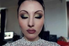 Gold and bronze make up