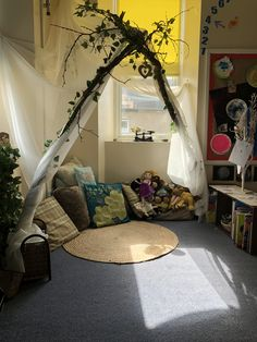 reading nook or calm down space