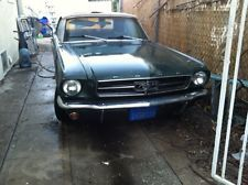 Ford : Mustang Convertible 1965 ford mustang convertible 6 cylinder inline automatic transmission