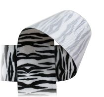 ZEBRA Ribbon - Black Stripe on MANY colors of ribbon