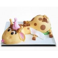 Tort Bebe Girafa Girl