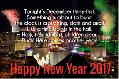 New Year Eve Quotes 2017