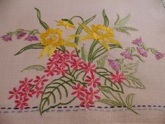Broderie ancienne