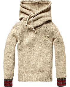 Pull with special hood construction - Scotch & Soda Online Shop