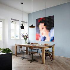 1000 bilder zu wandgestaltung auf pinterest w nde. Black Bedroom Furniture Sets. Home Design Ideas