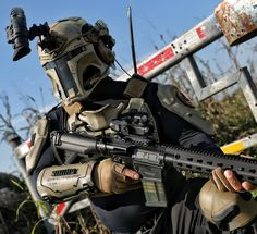 Airsoft The Star Wars Mandalorian Armor is now Real news AR500 Armor is building a real Mandalorian armor with industry leaders such as Heckler & Koch, SOG Knives & Tools, SureFire, Team Wendy, Armasight I