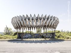 A Collection of Striking Soviet Bus Stop Designs