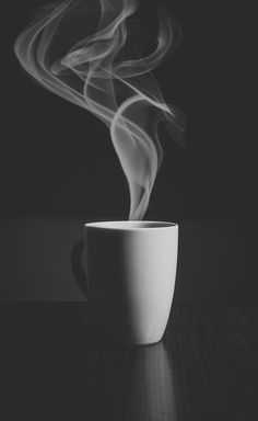 Just Cofee Art Print by Happy Home Artistry - X-Small Black And White Coffee, Black And White Photo Wall, White Coffee Mugs, Coffee Love, Black And White Pictures, Black And White Photography, Hot Coffee, Coffee Break, Coffee Cups