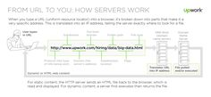 """How Servers Work: What happens when you enter in a URL? Here's a look at how a website gets """"served up"""" to your browser from anywhere in the world."""