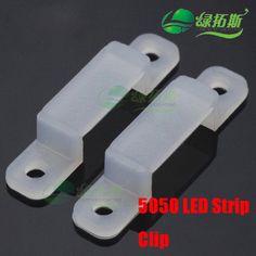 20pcs/lot 5050 strip clip for LED silicon gel strip/tube type strip clip  holder for fixing flexiable 5050 led strip♦️ B E S T Online Marketplace - SaleVenue ♦️👉🏿 http://www.salevenue.co.uk/products/20pcslot-5050-strip-clip-for-led-silicon-gel-striptube-type-strip-clip-holder-for-fixing-flexiable-5050-led-strip/ US $0.63