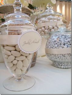 Candy Bar - I did one at my daughter's wedding that was AWESOME - need to post pictures!