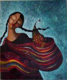 Belleza Originaria...    Obra de: Tania Maldonado (Cochabamba-Bolivia) —