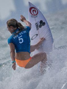 Gold Coast Snapper Rocks 2015. #Nikki Van Dijk (AUS) surfing during the #Roxy Pro Gold Coast Snapper Rocks 2015 Australia. Roxy brand and lifestyle. www.roxy.com @Roxy By Roxy