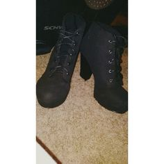 Suede boots NEW & NEVER WORN! Soda Shoes Ankle Boots & Booties