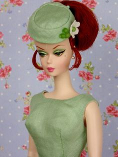 Fresh Celedon for Barbie & Victoire Roux by HankieChic on Etsy
