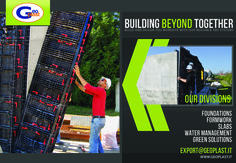 South Africa - Geoplast Formwork Advertising