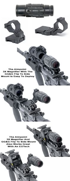 Aimpoint 3X Magnifier Flip To The Side Mount Package| Aimpoint 3x Magnifier Best Value Package